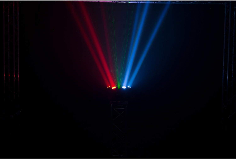 Strobe Effects Laser & Strobe Effects CHAUVET DJ Helicopter Q6 LED ...