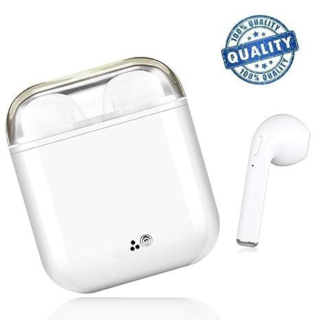 Auriculares Bluetooth, Auriculares Inalámbricos, IPX4 a Prueba de Sudor Auriculares Deportivos, Estéreo Envolvente