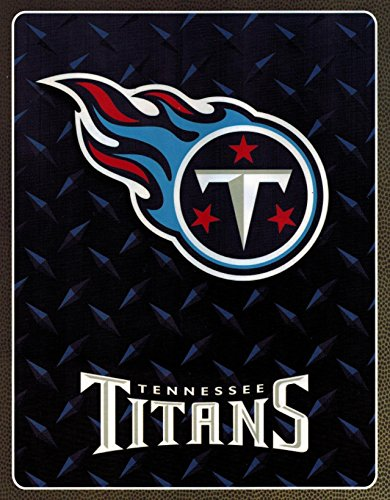(NFL Football Tennessee Titans Licensed Rashel Throw Blanket 60