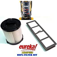 Eureka AirSpeed Bagless Upright HEPA Filter Replacement Set.