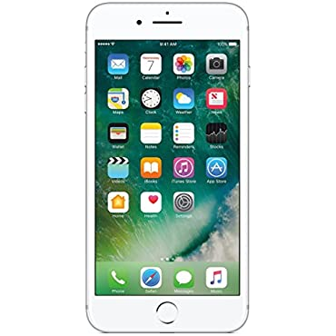 Apple iPhone 7 Plus Unlocked Phone 128 GB US Version (Silver)