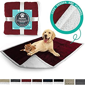 Amazon.com : American Kennel Club Pet Throw, Red : Pet Bed