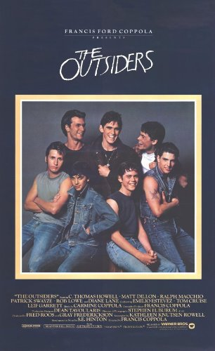 Image result for the outsiders poster