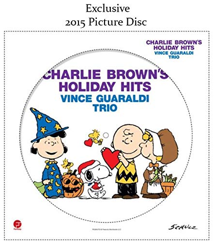 Charlie Brown's Holiday Hits - Vince Guaraldi Trio (Exclusive 2015 Picture Disc vinyl) [vinyl] Vince Guaraldi Trio