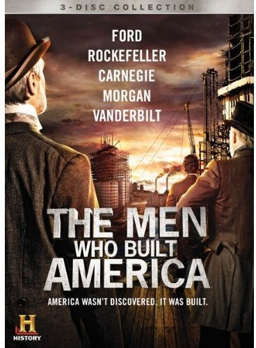 The Men Who Built America [DVD] by Lionsgate