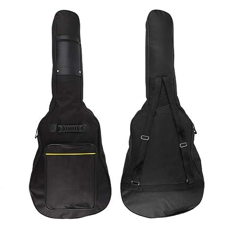 BHCW Mochila De Engrosamiento Doble Correas Bolsa De Guitarra ...
