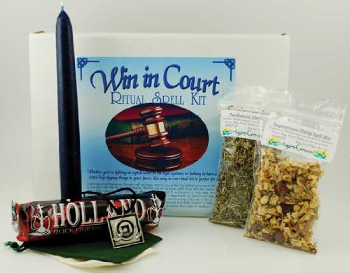 Fortune Telling Toys Boxed Magic Spell Kit Win In Court Legal Battles by AzureGreen (Image #1)