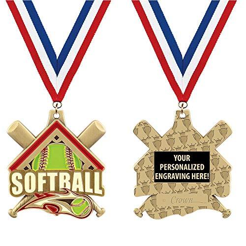 (Softball Medals - 2