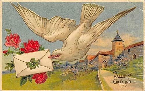 Valentine Greetings Postcard 1908 missing ()