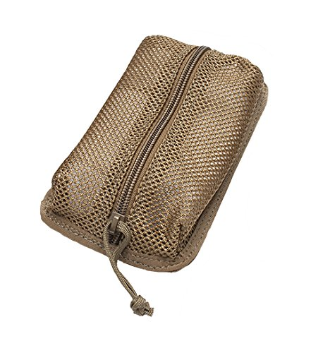 Detachable 4x7in Mesh Pouches/Compatible with our Tactical Notebook Covers