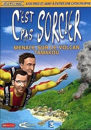 cest pas sorcier menace sur le volcan tamakou