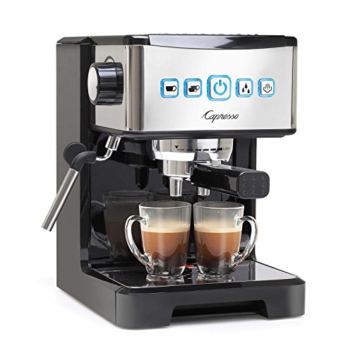 Capresso Ultima PRO Programmable Espresso & Cappuccino Maker Bundle (Certified Refurbished) by Capresso (Image #1)