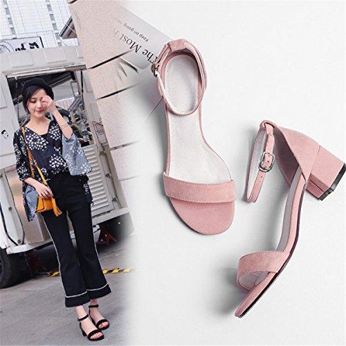 Fuß Sandalette Die Comfort Pink mit Sandals Sandals Sandalen Shoes Terrasse Riemen Frau Stilvolle Strap Frau Shoes Ring Damen Women's Sandalen Fett und Walking Sandalen und Oq8AwS0