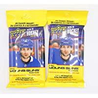 $20 » 2020/21 Upper Deck NHL Hockey Series 2 Fat Packs (2 Pack Bundle) - 52 Cards Total - Look For New Young Guns