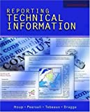 img - for Reporting Technical Information by Kenneth W. Houp (2005-07-28) book / textbook / text book