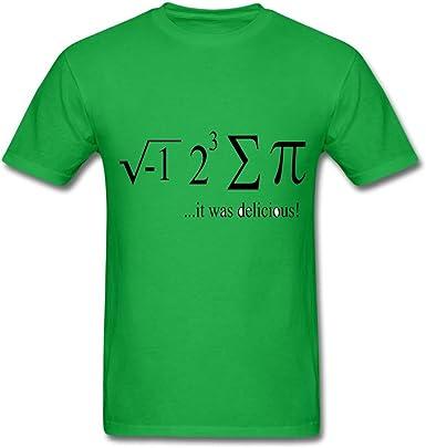 Ann Arbor T-shirt Co. Camiseta con Texto en inglés I Ate Some ...