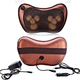 ExGizmo 8 Drives Shiatsu Car Home Massage Pillow Massager Heating Cushion Neck Back Shoulder + Retail Box