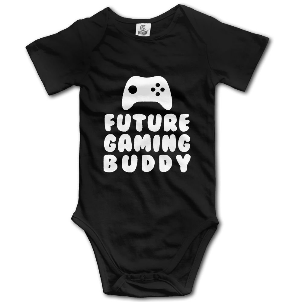 Midbeauty Future Gaming Buddy Newborn Baby Sleeveless Jumpsuit Romper