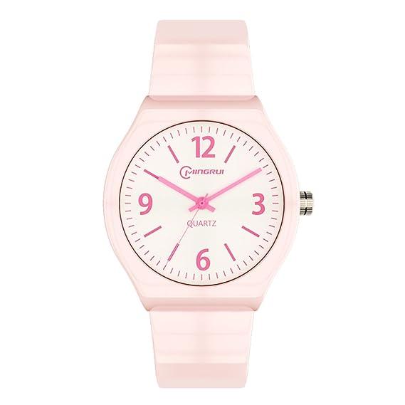 Niño] Reloj de cuarzo Encantador] Impermeable Natación Luminoso Relojes digitales Niña-A: Amazon.es: Relojes