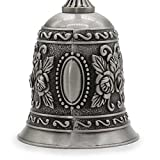AVESON Hand Bell, Metal Call Bell Alarm Hand Held