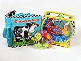 Lamaze Baby Toys Bundle #2 - Award Winning Set of 3. Fish Bowl, Discovery Farm & Safari Rattle.