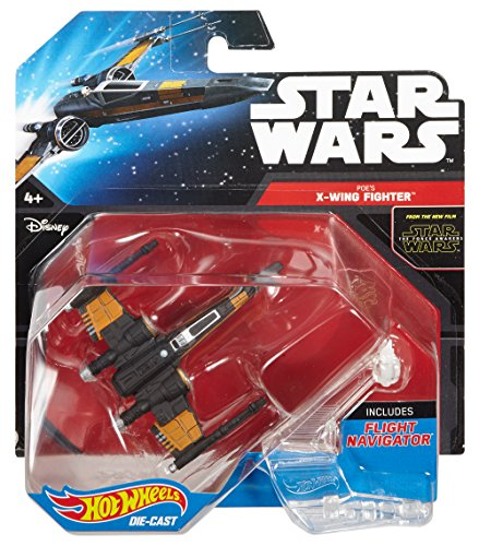 Hot Wheels Star Wars Poe's X-Wing Fighter (Closed Wings) Die-Cast Vehicle