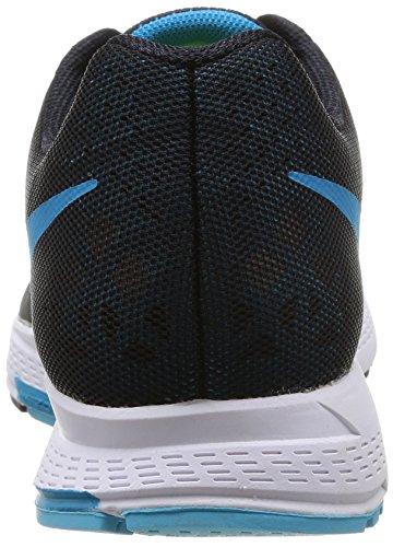 Nike Air Zoom Pegasus 31 - Zapatillas para hombre Varios colores (Negro / Azul / Blanco (Black / Blue Lagoon-Clrwtr-White))