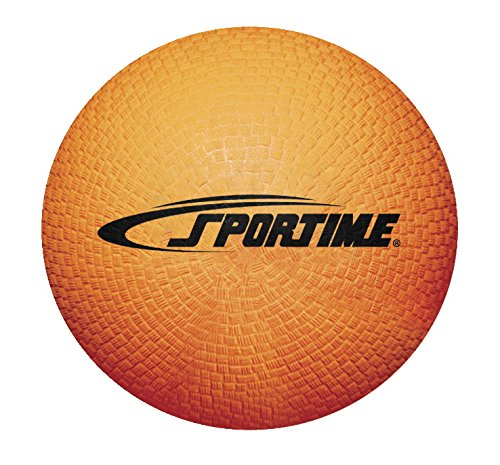 Sportime Playground Ball, 8-1/2 Inches, Orange -