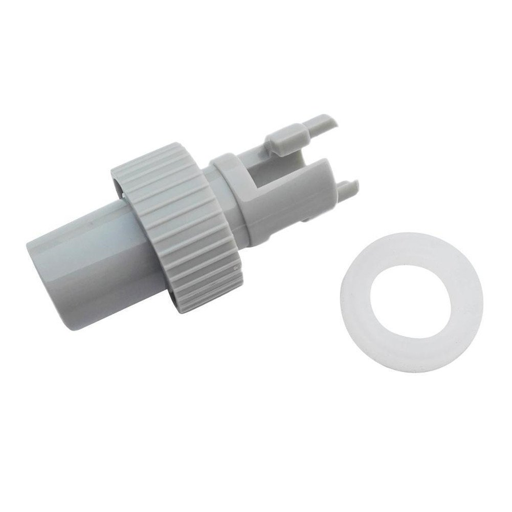 Aoile Valve Adapter,Air Foot Pump H-R Valve Adapter Connector for Inflatable Boat Kayak Dinghy