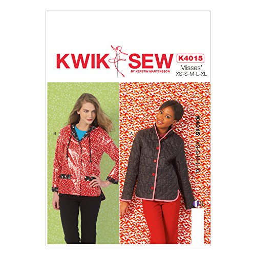 KWIK-SEW PATTERNS K4015 Misses' Lined Jackets Sewing Template