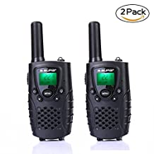 Walkie Talkie, PESTORY 22 Channel FRS/GMRS Two Way Radios for Kids, Long Range up to 3.7 Miles 1 Pair