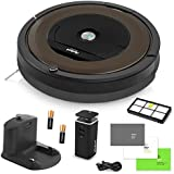 iRobot Roomba 890 Vacuum Cleaning Robot + Dual Mode Virtual Wall Barrier (With Batteries) + Extra High Efficiency Filter + More