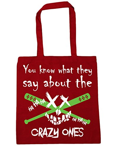 Ones Tote The About You They Bag Crazy 42cm Say Know HippoWarehouse x38cm What Beach 10 Classic Red Shopping Gym litres fxwzqYB8Yp