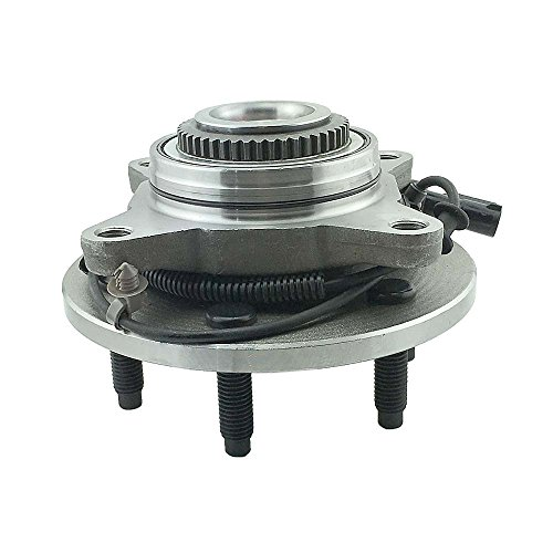 HU515079 x 1 Brand New Wheel Bearing Hub Assembly Front Left Or Right Side ( 4WD 6 Lug ) Fit 05 - 08 Ford F150, 06 - 08 LINCOLN MARK LT