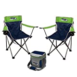 NFL Rookie of the Year Tailgate Bundle - Seattle Seahawks (2 Kickoff Chairs, 1 16 Can Cooler)
