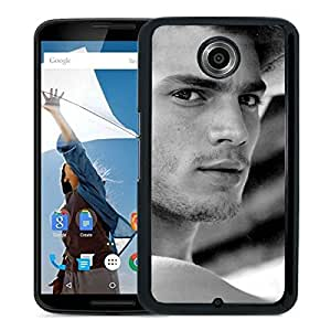 Fashionable Custom Designed Cover Case For Google Nexus 6 With Jamie Dornan 1 Black Phone Case