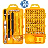 Precision Screwdriver Set Magnetic - Professional 110 in 1 Screw driver Mini Tools Sets, PC Repair Tool Kit for Mobile Phone-Tablet-Computer-Watch-Camera-Eyeglasses-PC/Other Electronic Devices