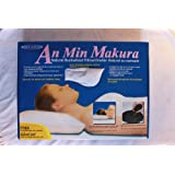 An Min Makura Natural Buckwheat Hull Pillow - FREE Pillow Case Included