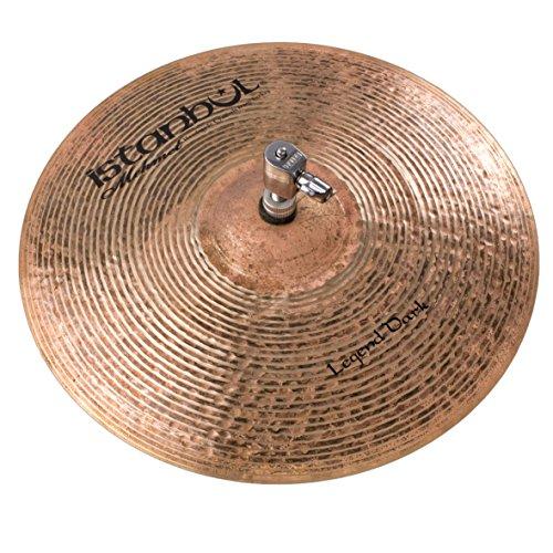 Istanbul Mehmet Cymbals Jazz Series LD-HH14 Legend Dark Hi-Hat 14-Inch Cymbal ()