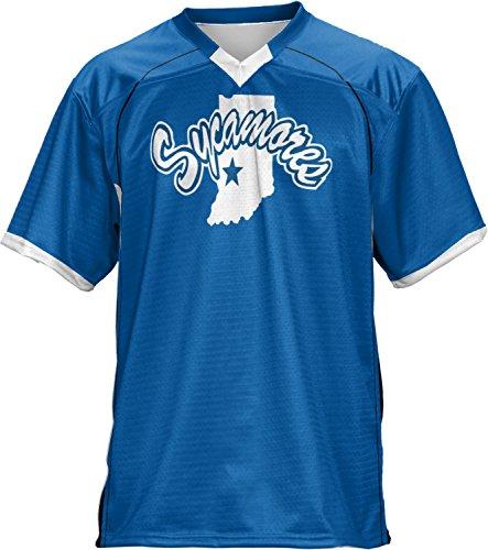 ProSphere Men's Indiana State University No Huddle Football Fan Jersey - Shopping Indiana Haute Terre