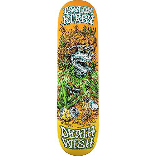 政策浴データベースDeathwish Kirby Buried Aliveスケートdeck-8.25 W/Mob Grip