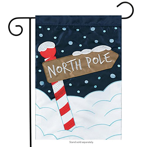 Carson Home Accents North Pole Trends Double Applique Garden