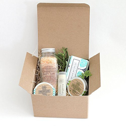 SHIPS NEXT DAY Relaxing Spa Gift For Her - Essential Oil Aromatherapy Gift Box