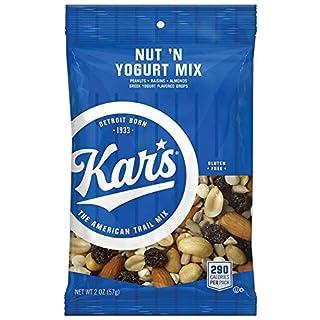 Kar's Nut 'N Yogurt Trail Mix Snacks - Bulk Pack of 2 oz Individual Packs (Pack of 48)
