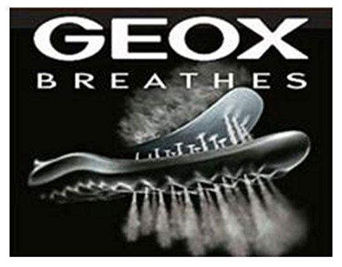 Geox Damocle Mens Scarpe Stringate Oxford In Pelle Nere