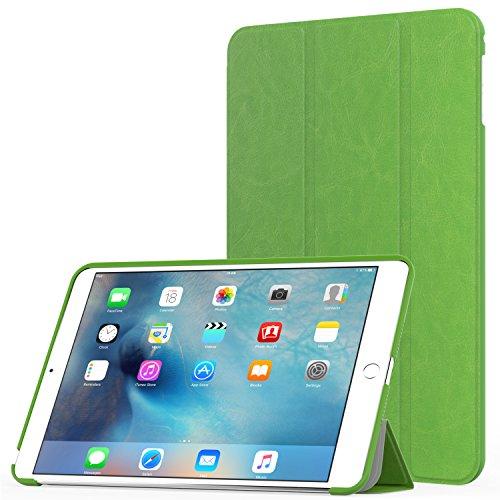 MoKo Case Fit iPad Mini 4 - Slim Lightweight Smart Shell Stand Cover Case with Auto Wake/Sleep Fit Apple iPad Mini 4 (2015 Edition) 7.9 inch iOS Tablet, FM - Smart Ipad Cover Mini Green Apple