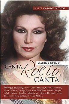 Book's Cover of Canta, Rocío, canta (Español) Tapa blanda – 21 agosto 2019