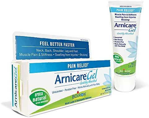 Boiron Arnicare Gel, 2.6 Ounce, Topical Pain Relief Gel