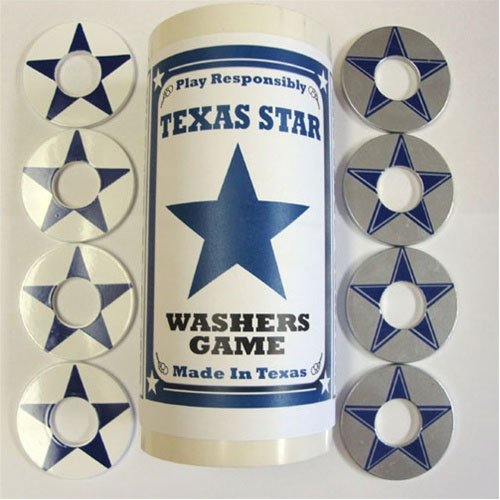 Bombat Washers Star of Texas Pitching Wa - Perfect Pitch Washers Shopping Results