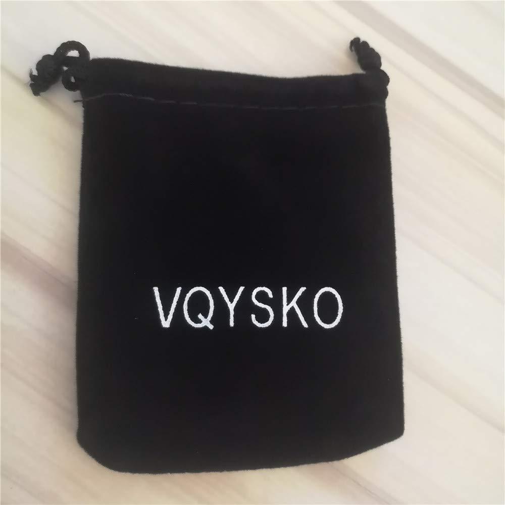 VQYSKO Bague Homme Acier Inoxydable Bague Bouteille de Bi/ère Opener M/étal Bijoux Cadeau Avec Boite Taille Optionnel